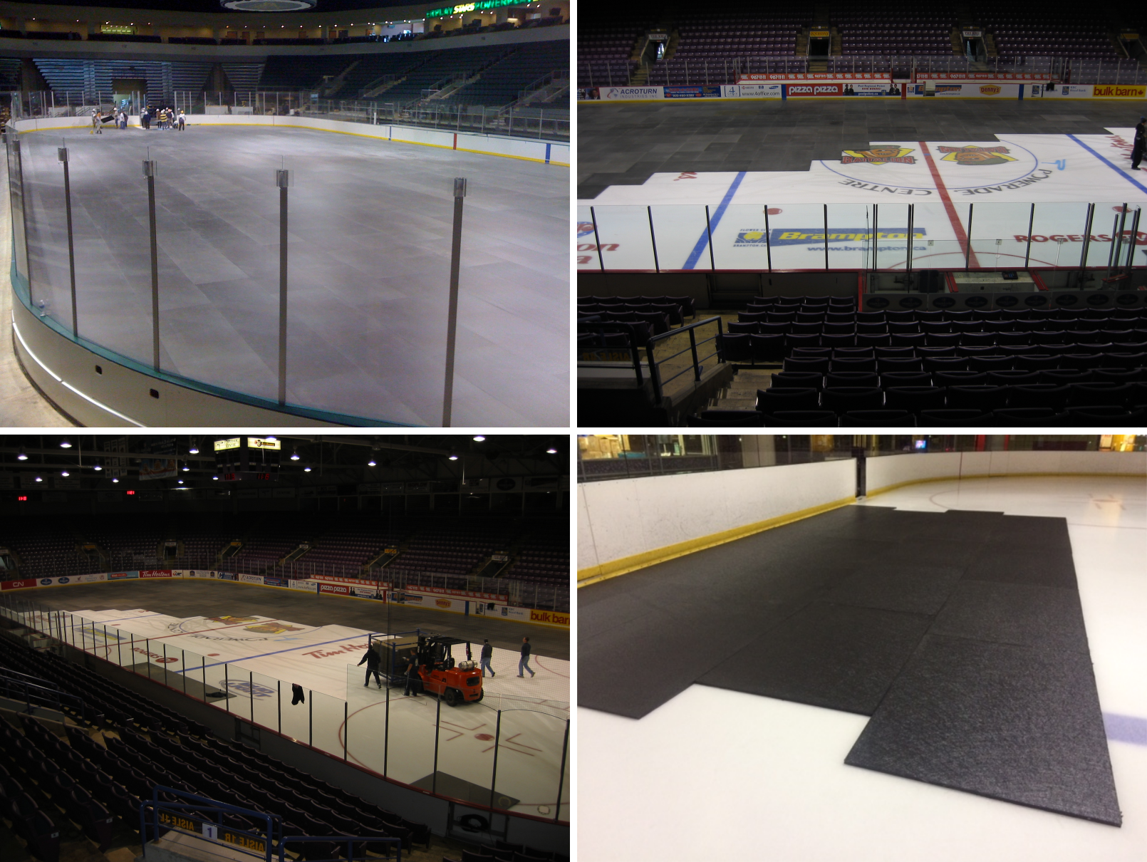 Arenas with Ice Decking